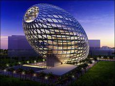 Cybertecture Egg, Mumbai