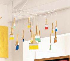 Paintbrush Mobile by Pottery Barn Kids, Hot or Not? Paintbrush Mobile by Pottery Barn Kids,Hot or Not? Paintbrush Mobile by Pottery Barn Kids,