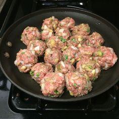 Greek Meatballs!! healthy dinner recipe