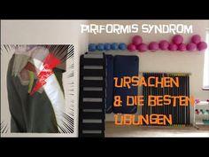 Dehnübungen für den Piriformis um Verspannungen zu Lösen und den Ischiasnerv zu entlasten - YouTube