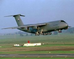 The C5-A Galaxy it is like flying on a cloud.
