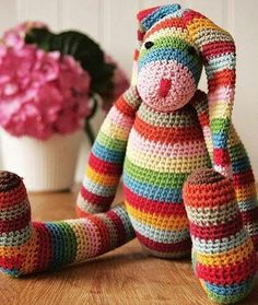 Conejo arcoiris