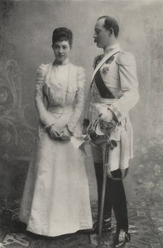 Engagement image of pss marie louise hannover with prinde maximilian