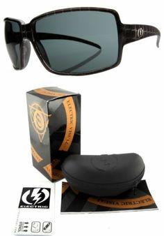 d32ca30a996 NEW Electric Vol Womens Black Box w  Grey Lens Sunglasses Msrp 100 Black  Box