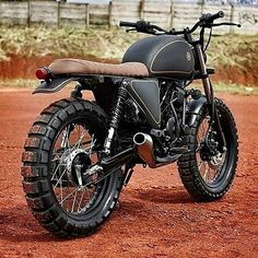 Creative Image of Scrambler Motorcycle. To get a better picture of the scrambler, it is better to be aware of the crucial components of a scrambler. A scrambler should go through every sort . Blitz Motorcycles, Cool Motorcycles, Vintage Motorcycles, Motos Retro, Motos Vintage, Moto Bike, Cafe Racer Motorcycle, Tracker Motorcycle, Women Motorcycle