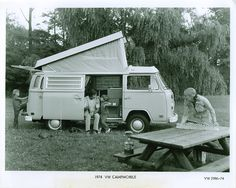 1974 VW Westfalia Campmobile, original Volkswagen press release