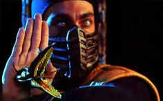 Chris Casamassa as Scorpion in the 1995 film Mortal Kombat