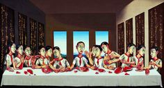 The last supper - ZENG Fanzhi
