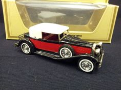 MATCHBOX MODELS OF YESTERYEAR Y-15 1930 PACKARD VICTORIA
