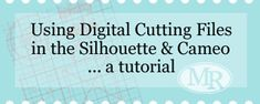 Digital cutter files for Silhouette from Photoshop