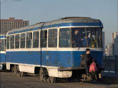 North Korea Tram