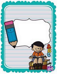 school notes-color blue