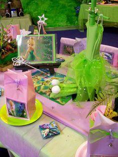 """Tinkerbell dress on display"