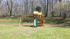 Cedar Summit Mount Forest Lodge Playset from @Costco Costco installed in Flanders, NJ.