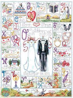 Design Works - Wedding ABC - Cross Stitch World