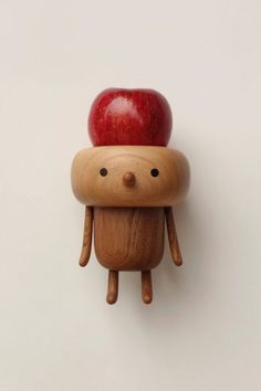 Cute Tiny WoodSnowmen