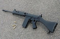 Known to the British Army as the It is arguably one of the best battle rifles on the planet. Military Weapons, Weapons Guns, Guns And Ammo, Assault Weapon, Assault Rifle, Fal Rifle, Battle Rifle, Bolt Action Rifle, Cool Guns