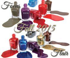 Zoya Fall 2015 - Focus and Flair