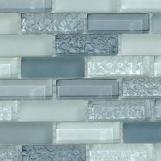 textured glass backsplash =o)