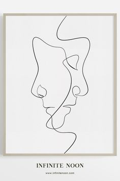 The Clone - Single line face illustration wall art, modern and minimal artwork,. - The Clone – Single line face illustration wall art, modern and minimal artwork, black line drawi - Doodle Drawing, Drawing Sketches, Art Drawings, Pencil Drawings, Minimal Drawings, Modern Drawing, Drawing Drawing, Gesture Drawing, Abstract Drawings