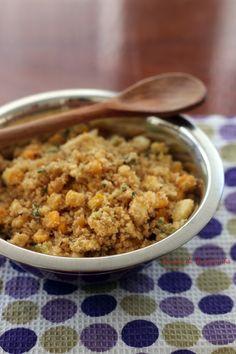 Farofa de Cream Crackers - Receitas da Formiguinha