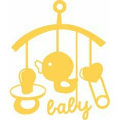 Silhouette Design Store - Search Designs : baby bed carousel