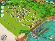 IOS games like Supercell Boom Beach   #supercell #boombeach