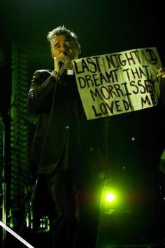 """Last night I dreamt that Morrissey loved me"" - Morrissey porn0"