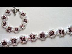Swarovski Crystal Bracelet Beading/Jewelry Making Tutorial - YouTube