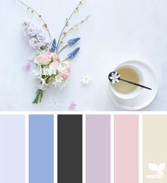Spring Tones via @designseeds #seedscolor #color #colorpalette #color #palette #pallet #colour #colourpalette #design #seeds #designseeds