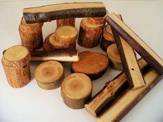 Wood Blocks Eco Friendly Waldorf Organic 26  by WildernessSerenity