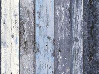 A.S. Creation Vliestapete Surfing & Sailing Holz Blau