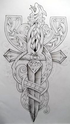 Celtic Cross2 by Tattoo-Design.deviantart.com on @deviantART