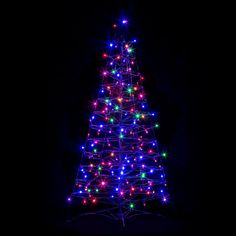 Shop Crab Pot Trees  FFT-G4M-LED Fisherman Creations Pre-Lit 4-ft Fold Flat Outdoor/Indoor Christmas Tree with 160 LED Lights at ATG Stores. Browse our artificial christmas trees, all with free shipping and best price guaranteed.