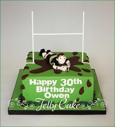 204 Best Rugby Cake Images
