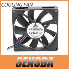 For Delta 8015 AFB0812VHB 8cm 80X80X15 mm 80MM 8*8*1.5CM 12v 0.30a cpu computer case cooling fan double ball