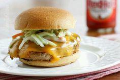 Turkey cheesburger