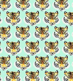 Patterntastic - Cute Tiger Pattern Designs