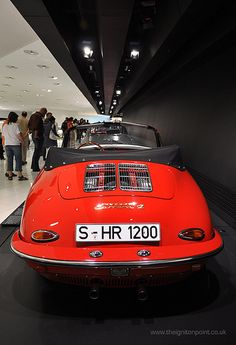 1962 Porsche 356 B Carrera 2 Cabriolet by theignitionpoint.co.uk, via Flickr