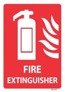 Fire Extinguisher 340x240mm