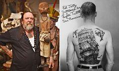 6 Weird Amsterdam museums Henk Schiffmacher founder of Amsterdam Tattoo Museum