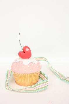 FAKE CUPCAKES Door knobs set of 2 handle pulls (kitchen,bakery,girls ...