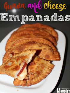 Guava and Cheese Empanadas- easy appetizer or dessert ready in minutes! Have you tried these delicious guava and cheese empanadas? You need to! check out the recipe now!