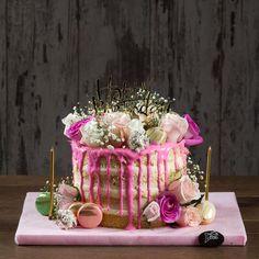Çicek Bahçesi Doğum Günü Özel Pasta