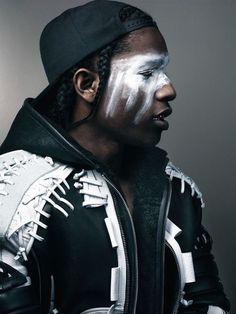 A$AP Rocky // Leather & WarPaint