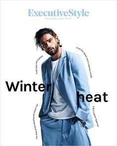Supermodel Marlon Teixeira takes the cover story of Executive Style's latest edition captured by fashion photographer Jesse Lizotte. Latest Mens Fashion, Urban Fashion, Fashion Art, Executive Fashion, Executive Style, Fashion Essay, Cover Male, Marlon Teixeira, Fashion Silhouette