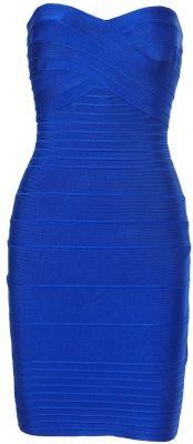 'Kimmy Adelisa' Royal Blue Strapless Bandage Dress i really really want