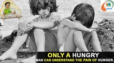 Only a Hungry Man can understand the pain of the Hunger. #NGOSofia #Justice #Child