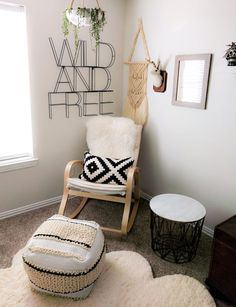 Wild and Free: a Boho Desert Chic Gender Neutral Nursery for your Newborn - Project Nursery - Nursery Decoration Idea - Nursery Room Chic Nursery, Nursery Room, Girl Nursery, Nursery Decor, Project Nursery, Bohemian Nursery, Nursery Themes, Ikea Nursery, Nursery Modern