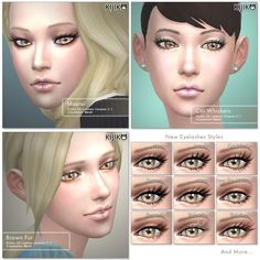 3D Lashes updated. I updated my lashes. Added the... - Kijiko's Gallery